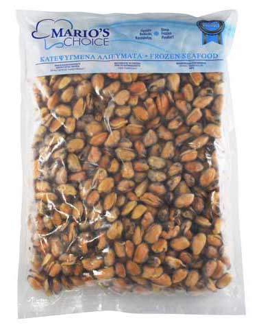 MUSSEL MEAT IQF PILLOW PACK (3kg)