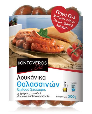 Seafood Sausage - pasteurized