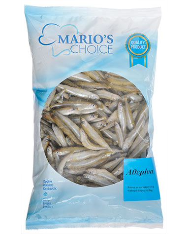 SILVER SMELT IQF PILLOW PACK (1kg)