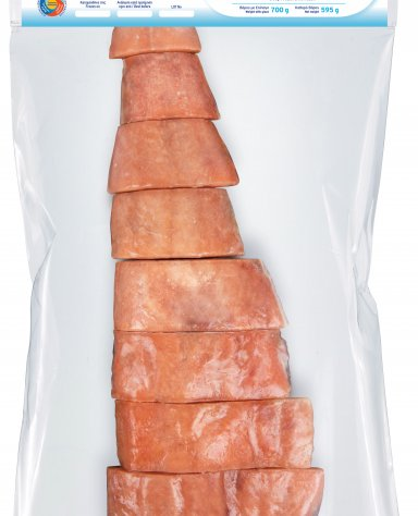 CHUM SALMON FILLETS IN PORTIONS (700g) Vacuum pack - 1